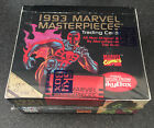 1993 Skybox MARVEL MASTERPIECES Trading Cards 36 Packs Factory Sealed Box