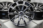 16x7 Wheels Rims Black 5x1143 5x100 Fit Kia Sorento Soul Sportage Honda Civic