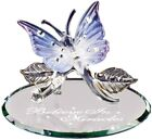 Glass Baron Butterfly Believe in Miracles Glass Figurine S3 329
