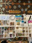 Lot of Jewelry Making Tools Hardware Needles Beads and More