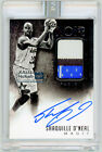 SHAQUILLE O'NEAL 2014 Panini NOIR ABW-SO WHITE BOX 1 1 AUTO Jersey Signed SEALED