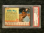 1962 Post Willie Mays PSA Authentic