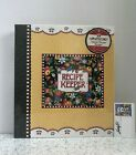 MARY ENGELBREIT Deluxe Recipe Binder w Matching Magnets  Notepad NEW
