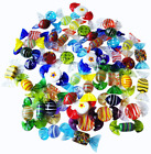 24pcs Sujeetec Handmade Vintage Murano Various Glass Sweets Glass Candy Gifts