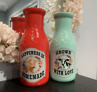 2 New Pioneer Woman Spring Decor Vases
