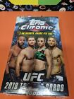 🔥🔥2018 TOPPS CHROME UFC HOBBY BOX FACTORY SEALED 24 PACKS 2 AUTO PER BOX🔥🔥