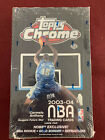 2003-04 Topps Chrome Factory Sealed Hobby Box, 24ct Packs, LeBron James Wade RC?