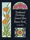 Traditional Doorways Stained Glass Pattern Book Paperback Carolyn Relei