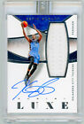 KEVIN DURANT 2014 Panini LUXE #M-KD WHITE BOX 1 1 STICKER SEALED JERSEY AUTO