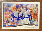 JAKE ARRIETA Signed 2014 Topps Card #438 Autograph CHICAGO CUBS Cy Young