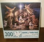 Bits And Pieces In The Manger by Ruane Manning 300 pieces 18x24 New Sealed