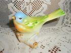 Fenton Art Glass Opaline Satin Bird on Log 5238 CD Excellent