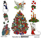 CHRISTMAS 105 Embroidery Card for BerDeco Brother Baby Lock Simplicity pes