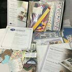 Original Creative Memories 12x12 White Pages Stickers Bag Huge Lot New