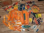 Huge lot Hot Wheels Straight curved Track Pieces and more free shipping rare