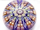 Beautiful Perthshire Paperweight PP108 11 Spoke Butterfly Center FREE SHIPPING