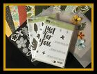 Stampin Up BOTANICAL BLOOMS  FOR YOU Stamps  BOTANICAL Dies  DSP  Vellum