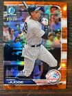 2019 Bowman Chrome NSCC National Convention ORANGE Refractor # 25 AARON JUDGE