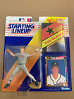 Tom Glavine 1992 Starting Lineup Factory Sealed With Card