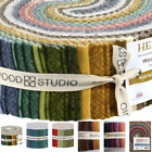 Maywood Woolies Cotton Flannel Jelly Roll Strips 40