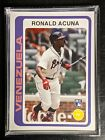2018 Topps Throwback Thursday TBT Complete Set #18 Acuna RC PR:1672