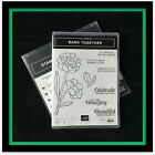 Stampin Up BAND TOGETHER Stamp Set  DETAILED BANDS Dies GREAT DIES NEW 2
