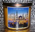 ISTANBUL SPARKLING AMBER Bath  Body Works Large 145 Ounce Candle New Retired