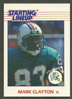1988 Kenner Starting Lineup Mark Clayton Miami Dolphins