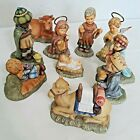 Goebel Berta Hummel Nativity 10 Piece Set 1996