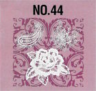 LACE 44 Embroidery Memory Card Bernina Deco Brother Baby Lock pes