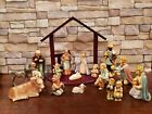 HUMMEL GOEBEL Nativity 214 15 piece Set