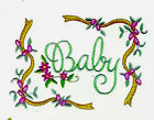 BABIES  BORDERS C 19 Embroidery Memory Card BerDeco Baby Lock Brother pes