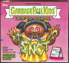 2020 GARBAGE PAIL KIDS LATE TO SCHOOL COLLECTOR EDITION BOX FACTORY SEALED