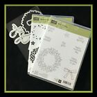 Stampin Up WONDROUS WREATH CIRCLE OF SPRING Stamps  WREATH Dies