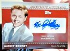 MICKEY ROONEY 2011 TOPPS AMERICAN PIE AUTOGRAPH CARD