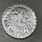 Stunning Vintage Cut Crystal Glass Multi Faceted Paperweight