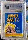 1967 Topps Who Am I? Trading Cards 18