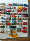 Job Lot of 50 Mixed Vintage Lesney  Husky TOY MODEL DIECAST Cars