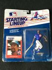 1988 LEON DURHAM Chicago Cubs  Rookie & Only Starting Lineup