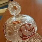 Hofbauer Crystal Relish Dish Lid The Ruby Byrdes