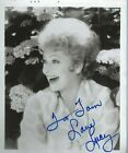 Lucille Ball Autographed 8x10 Photo Comedian Actress TV Star I Love Lucy JSA COA