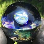 14 36mm 3D MINI Universe Planets Galaxies Stars Glass Marble Brian Howie SM28