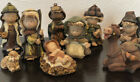 Family Christian Stores 9 Piece Nativity Set Childrens Christmas Pageant