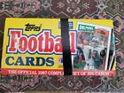 1987 Topps Football Factory SEALED SET 1-396 Rare NFL Flutie and Jim Kelly RC's