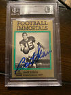 FOOTBALL IMMORTALS BART STARR #108 SIGNED AUTOGRAPH BAS AUTO HOF PACKERS