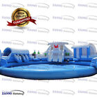 66x66ft Commercial Inflatable Winter Water Park Slides  Pool With 3 Air Blower