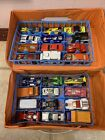 Vintage Lot OfMatchbox With 24 Carrying Case 24 cars trucks