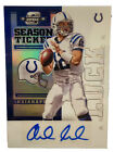 2012 Contenders Andrew Luck Championship Ticket 1/1 Closes at $42,300 12