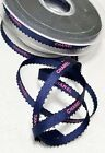 New CHANEL White  Gold Ribbon Roll 25m Sealed Holiday Edition