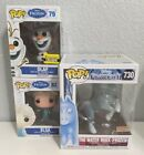 Funko Pop Disney • Frozen Lot • Elsa & Olaf • Water Nokk Boxlunch Exclusive!